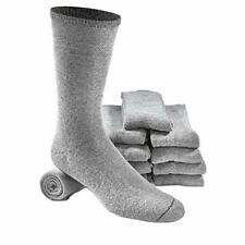 5 Pair Genuine Israeli IDF Military Army Wool Cotton Boot Gray Socks Medium
