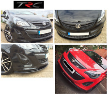 GENUINE Triple R Front Splitter to fit Vauxhall Corsa D Limited Edition bumper