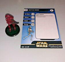 Star Wars Miniatures Clone Strike BATTLE DROID #29