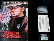 VENDETTA TRASVERSALE_ VHS EX NOLO_ FILM AZIONE 1989_ VHS USATA