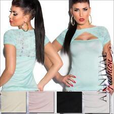 Viscose Short Sleeve Blouses for Women