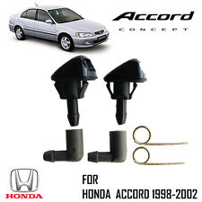 Windshield Washer Water Spray Nozzle Injector Honda Accord 98 99 00 01 02 Sedan