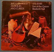 THE STRAWBS JUST A COLLECTION OF ANTIQUES LP 1970 PSYCH FOLK NICE COND! G+/VG!!