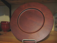 LENOX  WOODEN  SERVICE  CHARGER  PLATE