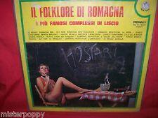 IL FOLKLORE DI ROMAGNA  LP 1975 ITALY NUDE Cover MINT- Ely Neri Di Rienzo