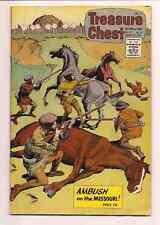 Treasure Chest of Fun and Fact Comic Book 1967 Volume 22 #11 Ambush Missouri