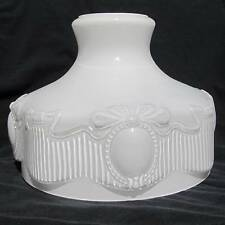 "10"" Glass Shade fit Aladdin / old student oil lamp Old Pattern #201 Replica"