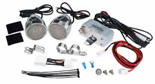 Motorcycle Music System 600 Watts Chrome Speakers