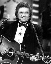 Johnny Cash - 8x10 Black & White Photo