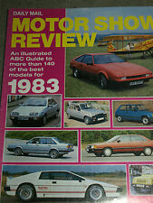 DAILY MAIL MOTOR SHOW REVIEW 1983 FERRARI 512 BB MONDIAL  BMW 320 525i 635CSi