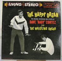 "12"" 33 RPM STEREO LP - RCA VICTOR LSP-2099 - DAVE BABY CORTEZ HAPPY ORGAN (1959)"