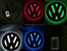 Vw t25 t4 t5 t6 caddy 12 inch interior led light badge logo.