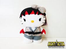 Street Fighter Hello Kitty Ryu 6-Inch Plush