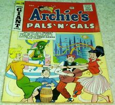 Archie's Pals 'n' Gals 18, FN- (5.5) 1961 SciFi cover! 40% off Guide!