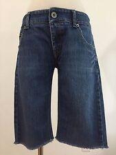 Emporio Armani Denim Jeans Cut-Off Shorts Size 28