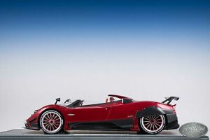 1/18 BBR Pagani Barchetta AMG Metallic Red