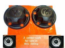 "1998-2003 2 Dodge Ram Van 1500 2500 3500 Center Caps Cap Hubcap 15"" rim B1 7.25"""
