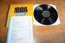 Grace Slick / RCA Radio Special 1981+ Backstage Pass Jefferson Starship Airplane