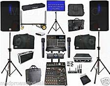 Pro Karaoke system, LIve Sound system.  Karaoke equipment PCDJ karaoki kj laptop