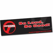 "36"" X 120"" Trigger Horn Logo Color Banner trigger horns TRGPROA002"