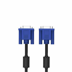 2.6 Meter VGA / SVGA 15 Pin PC Computer Monitor LCD Extension Cable Male to Male