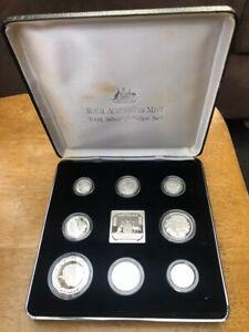 ROYAL AUSTRALIAN MINT Silver Jubilee 1991 Masterpieces in Silver !