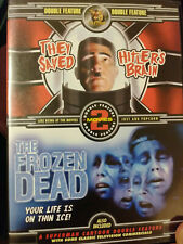 They Saved Hitler's Brain/Frozen Dead Dvd Double Feature Rare DVD