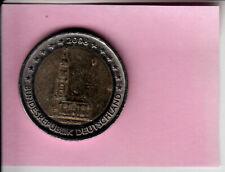 Allemagne 2 euros commémorative 2008 F - HAMBOURG - TTB