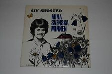 Siv Shosted - Mina Svenska Minnen - My Swedish Memories RARE - FAST SHIPPING!