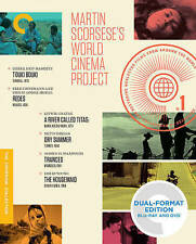 Martin Scorsese World Cinema Project Criterion Collection Blu-ray Boxset