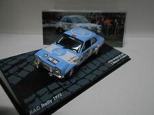 FORD ESCORT RS 1600 RALLY RAC 1973 MAKINEN EAGLEMOSS IXO 1/43
