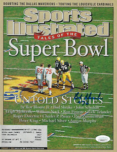 2004 PACKERS Bob Skoronski signed Sports Illustrated magazine JSA COA AUTO SI SB