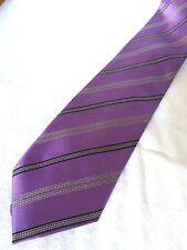 BASILE cravatta tie 100% seta silk original Made in Italy nuova new hand made
