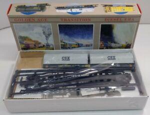 Walthers 932-3881 HO CSXT 55' Cushion-Coil Car Kit #496084 NIB