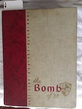 1953 Iowa State Yearbook THE BOMB Ames RARE Find Original Non Smoking/Pet Home