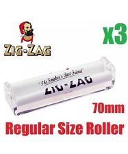 3x Regular Size Zig Zag Automatic Cigarette Cig Tobacco Rolling Roller Machine
