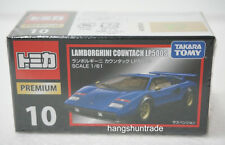 Takara Tomy Tomica Premium 10 Blue Lamborghini Countach LP500S Sports Car Model