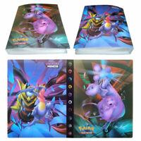 Pokemon Pikachu Binder Portfolio Pocket Album Card Xy Portfolio Holder Cards Pro