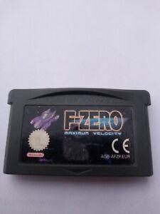 F-zero Gameboy Advance Nintendo Spiel