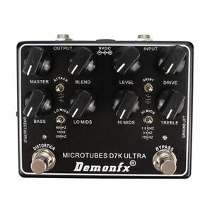 High quality Bass Effect Pedal DemonFX Microtubes D7K Ultra V2 Bass Preamp Pedal