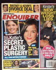 National Enquirer Feb. 12, 2007. Katie Holmes. Britney Spears. Kirstie Alley