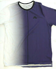 Nike Air Dip Dye Foam T-Shirt In White/Purple #Aa8669-100 Mens Size Xl