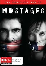 Hostages : Season 1 (DVD, 2014, 3-Disc Set)