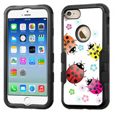 3-Layer Bumper Phone Case (Blk) for Apple iPhone 8 -  Ladybug