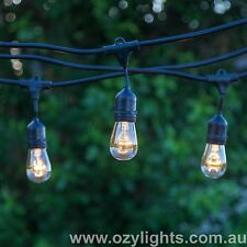 24 Piece Festoon Outdoor Party Pergola Backyard Commercial Quality String Lights