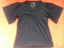 Women's Dorothy Perkins Black Short-sleeved Top, size 14