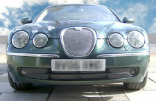 Jaguar S Type Upper & Lower Front Grilles (approx. 2004 - 2007)