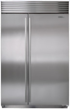 "Sub-Zero Bi-48Sid/Sth 48"" Built-in Side-by-Side Refrigerator in Stainless"