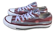Converse Chuck Taylor All-Star Red Low Tops Men's 5 / Women's 7