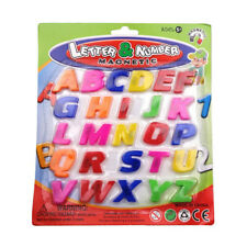 26X COLORFUL ABC ALPHABET FRIDGE MAGNET EARLY LEARNING EDUCATIONAL TOYS WS